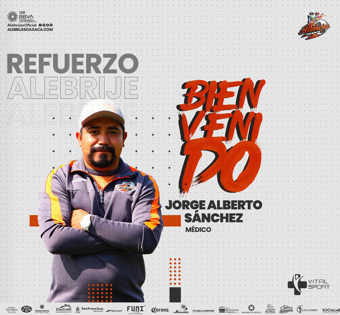 Jorge Alberto Sánchez - Refuerzo Médico