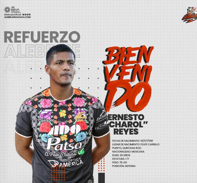 """Ernesto """"Charol"""" Reyes"""