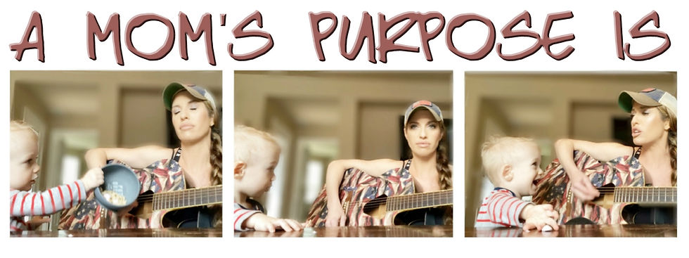 A Mom's Purpose cover photo with title.j