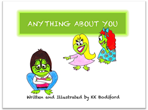 """Anything About You"" Children's Book"