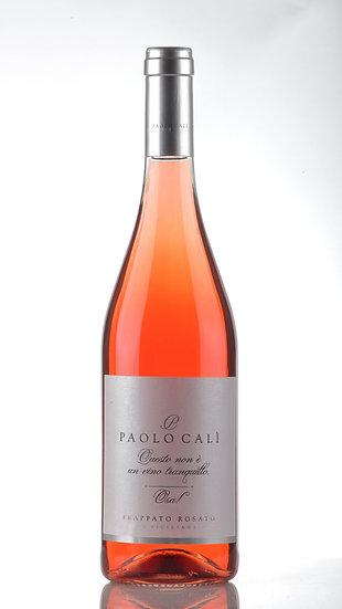 Questo non è un vino tranquillo. Acquista vino Frappato rosato Paolo Calì, Osa