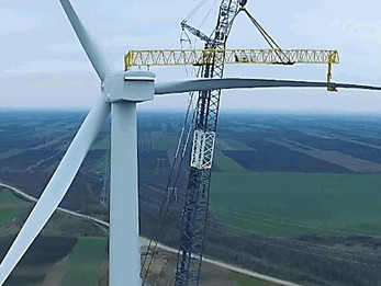 158 MW wind farm project Čibuk 1 near completion