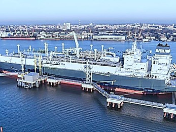 Lithuania receives first shipment of US LNG