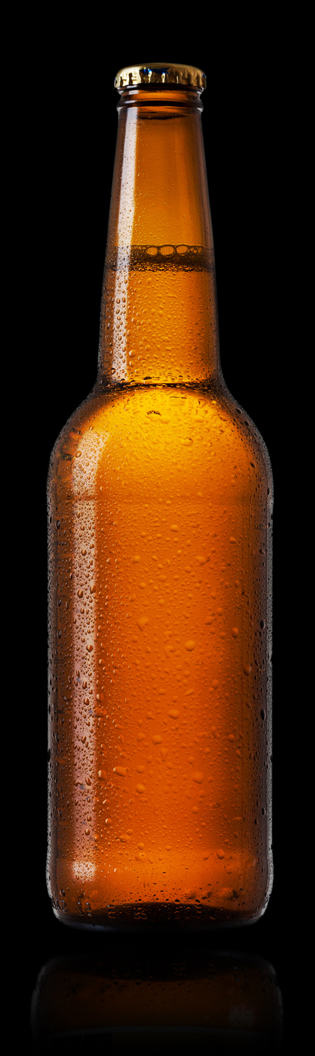 Brown Beer Bottle