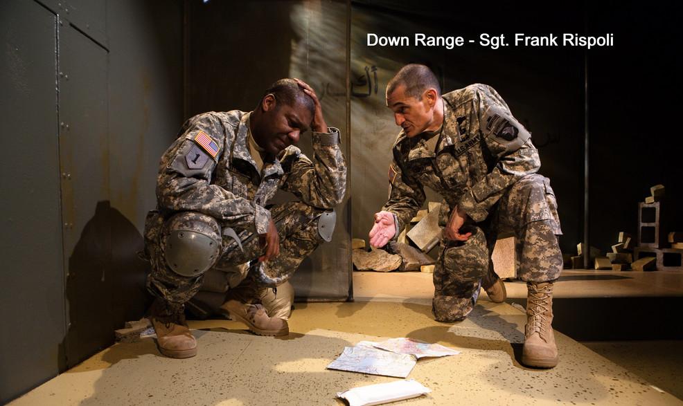 Down Range - Sgt. Frank Rispoli