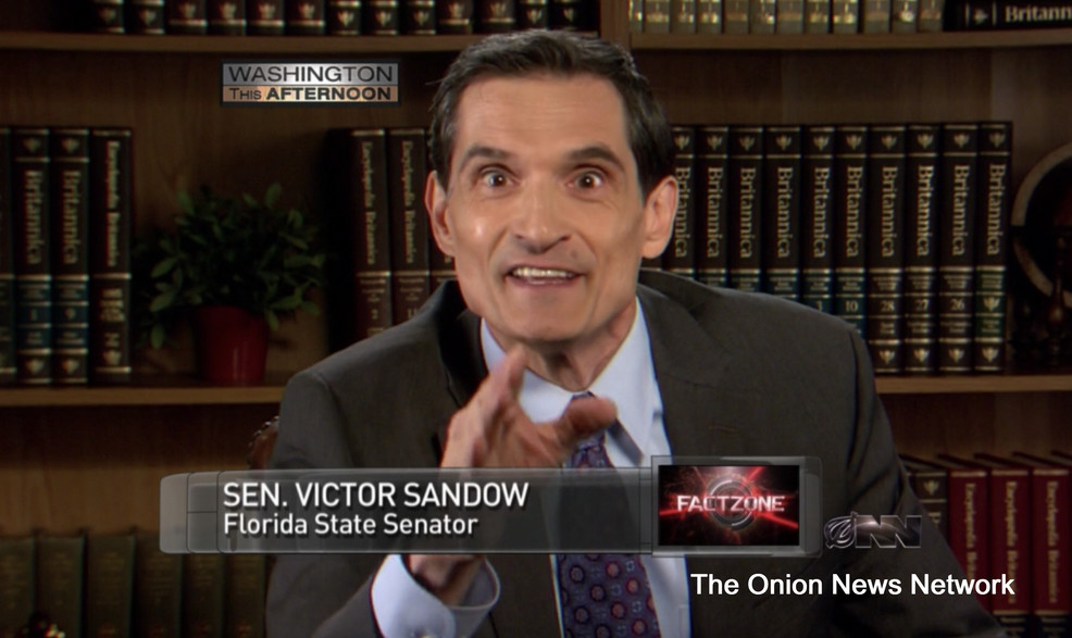 Onion News Network - Sen. Victor Sandow