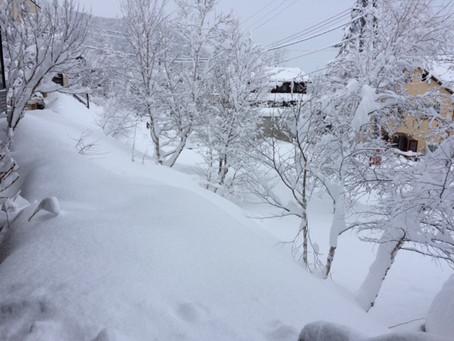 大雪警報やっと解除