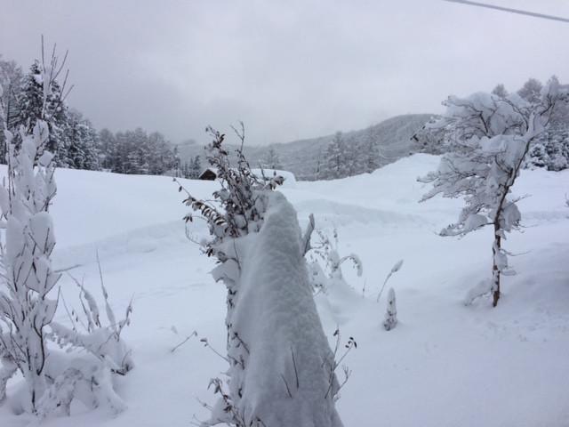 12月27日大雪警報発令