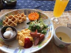 幼児の朝食一例