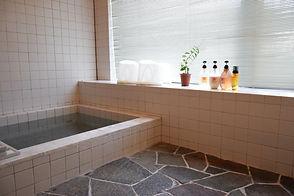 木島平ペンション山の家陶の石畳風呂