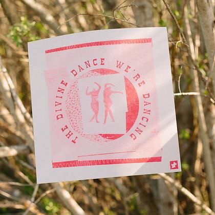 """""""Divine Dance"""" Riso Print"""