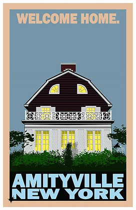Welcome Home. Amityville, New York
