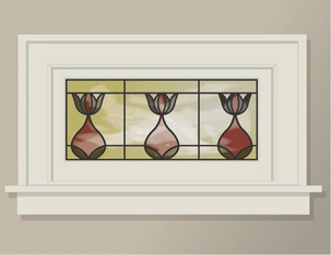 Stained Glass, White