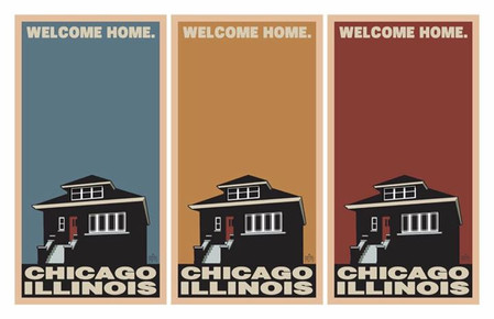 Welcome Home. Chicago Triptych