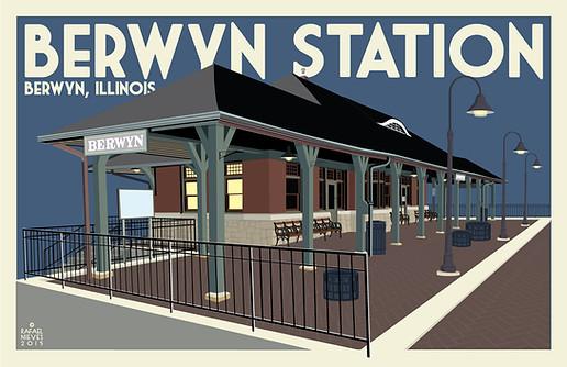 Berwyn Station