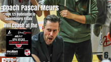 Coach Pascal Meurs Added to KPA Vegas Pro Summer League Coaching Staff
