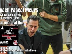 Coach Pascal Meurs Added to KPA Vegas Pro Summer League Coaching Staff