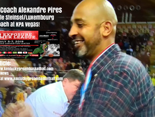 Total League Luxembourg Head Coach Alexandre Pires (Amicale Steinsel) will Coach at KPA Vegas