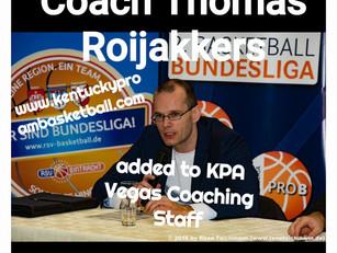 Coach Thomas Roijakkers Added to KPA Vegas Coaching Staff