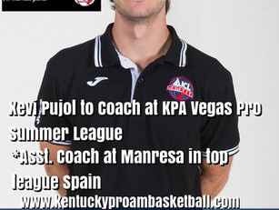 Xevi Pujol Returns to Coach at KPA Vegas Pro Summer League
