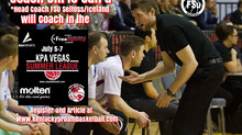 Coach Chris Caird (Head Coach FSU Selfoss Iceland) Added to KPA Vegas Pro Summer League Coaching Sta