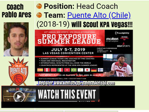 Coach Pablo Ares to Scout KPA Vegas