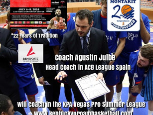 Coach Agustin Julbe Added to KPA Vegas Pro Summer League Coaching Staff