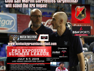 Coach Diego Jose Vadell Returns to Scout KPA Vegas