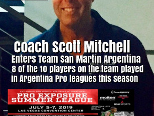 Team San Martin Argentina Enters KPA Vegas Pro Summer League