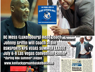 Coach Johnny Griffin Added to KPA Vegas Summer League Coaching Staff
