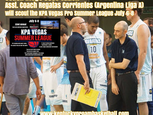 Argentina Assistant Coach Diego Jose Vadell to attend KPA
