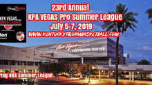 2019 KPA Vegas Pro Summer League Dates Announced