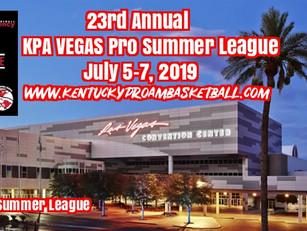 2019 KPA Vegas Pro Summer League Dates Announced