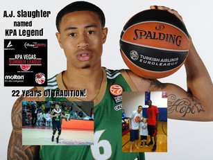A.J. Slaughter Named KPA Legend