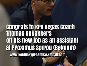Coach Roijakkers Named Assistant at Powerful Proximus Spirou (Belgium Euromillions League)