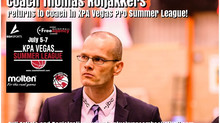 Coach Thomas Roijakkers Returns to Coach in KPA Vegas Pro Summer League