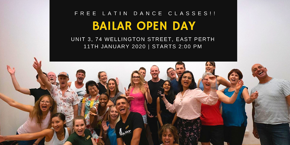 Free Latin Classes - Open Day