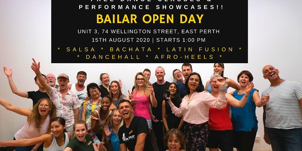 FREE DANCE CLASSES - Bailar Winter Open Day