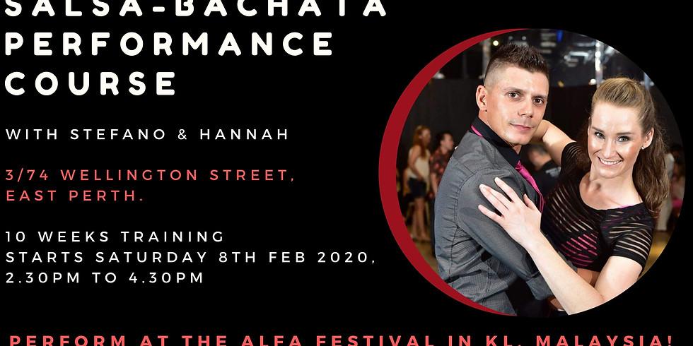 Salsa Bachata Performance Course