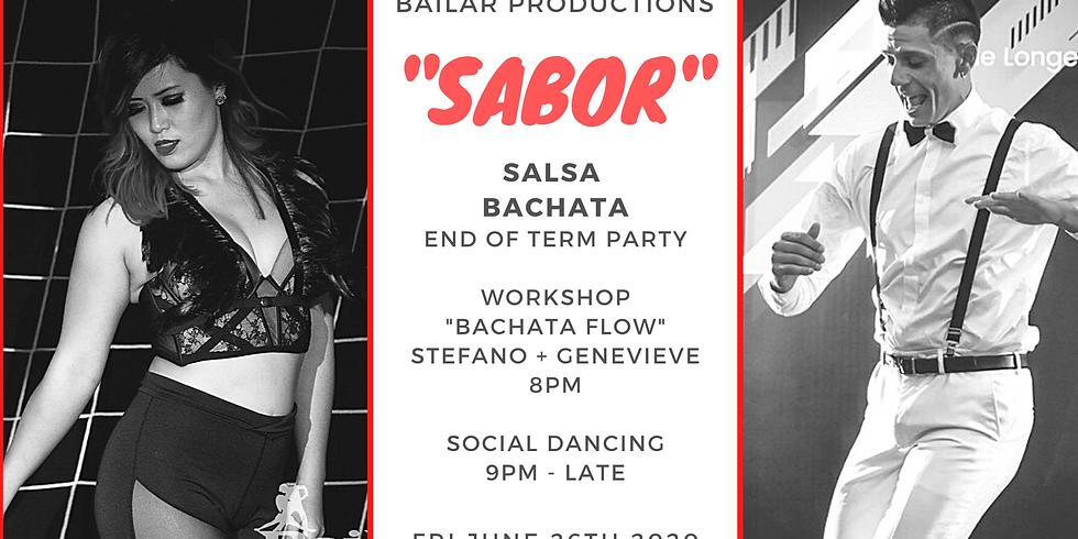 """SABOR""  - Salsa Bachata Dance Party"