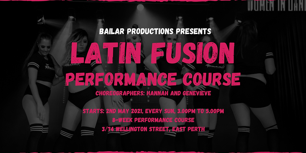 Latin Fusion Performance Course