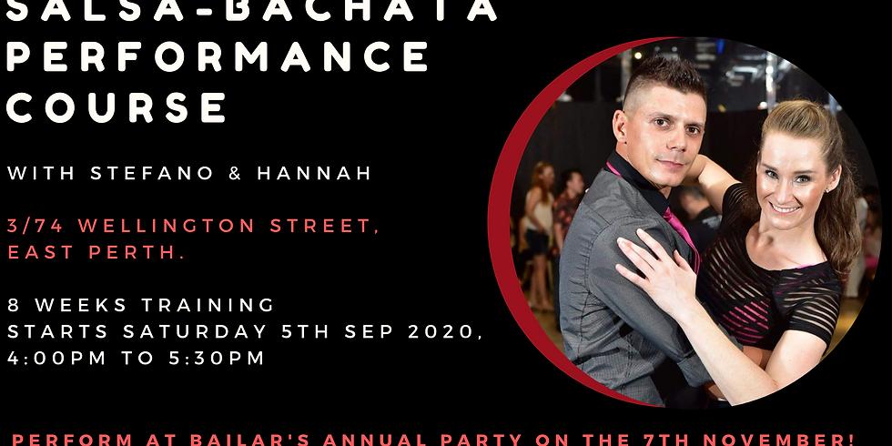 Salsa-Bachata Performance Course (Intermediate)