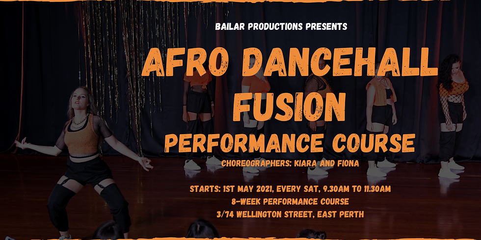 Afro Dancehall Fusion Performance Course