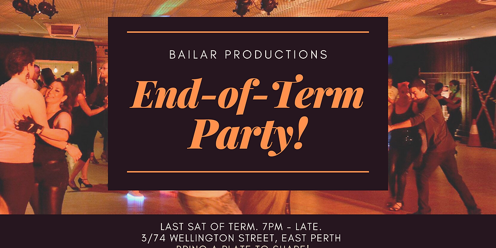 End-Of-Term Party
