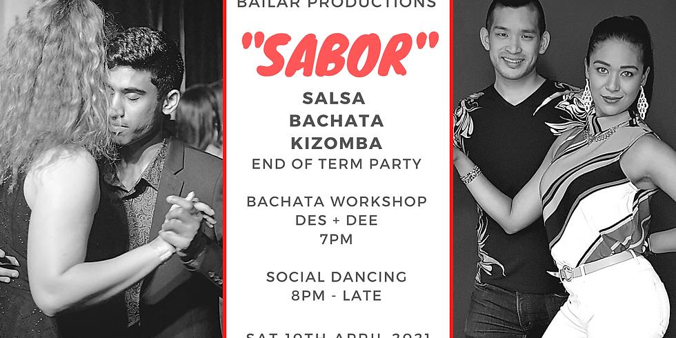 """SABOR""  - Salsa Bachata Kizomba Dance Party T2"