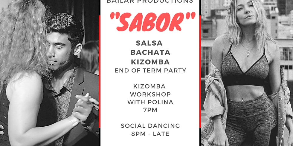 """SABOR""  - Salsa Bachata Kizomba Dance Party T1"