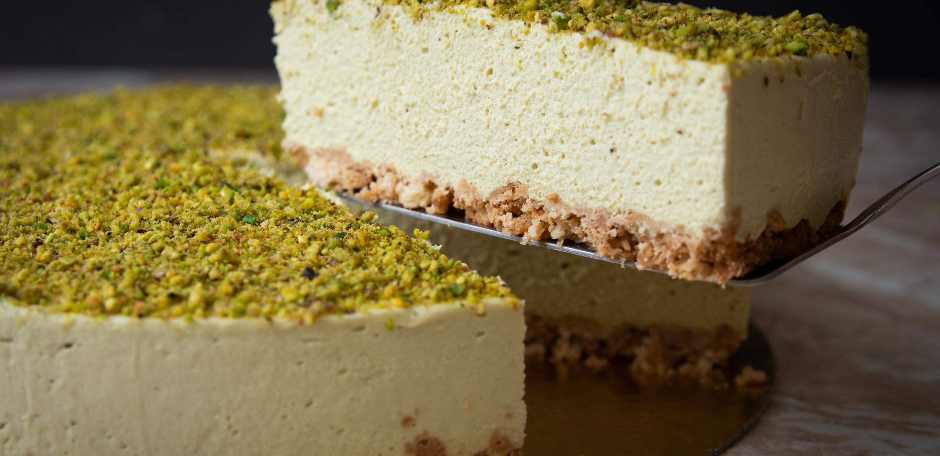 Cheesecake de Pistache