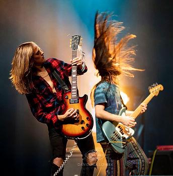 Porter Dowdy, Gibson Les Paul, Davis Huggins, Fender Bass Guitar, David Holloway Photography, Kings Ransome