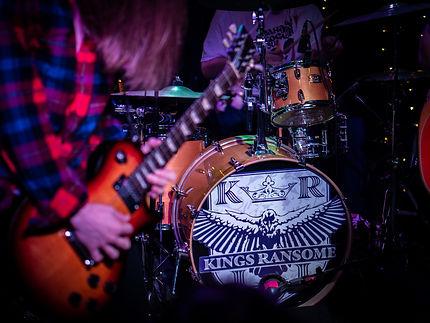 Kings Ransome, Yamaha Drums, Matt Malphrus, Porter Dowdy, Gibson Les Paul, Radio Room, Greenville SC, Rock Band