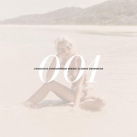 Cleonie Swim: Conscious Consumerism Series 001